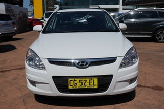 2008 Hyundai i30 FD MY09 SLX 1.6 CRDi White 5 Speed Manual Hatchback