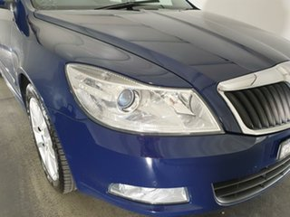 2011 Skoda Octavia 1Z MY11 118TSI DSG Blue 7 Speed Sports Automatic Dual Clutch Liftback.