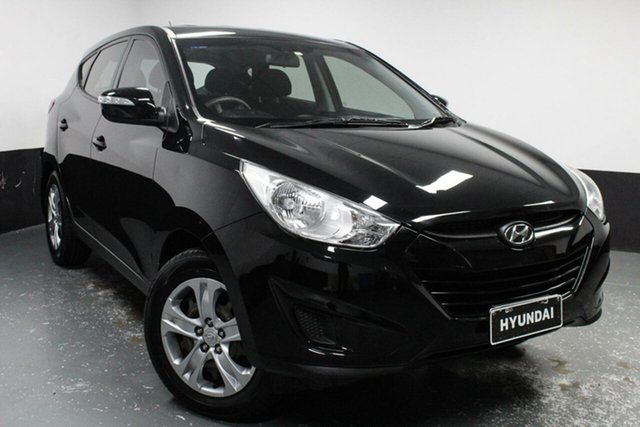 Used Hyundai ix35 LM MY12 Active, 2012 Hyundai ix35 LM MY12 Active Black 6 Speed Sports Automatic Wagon