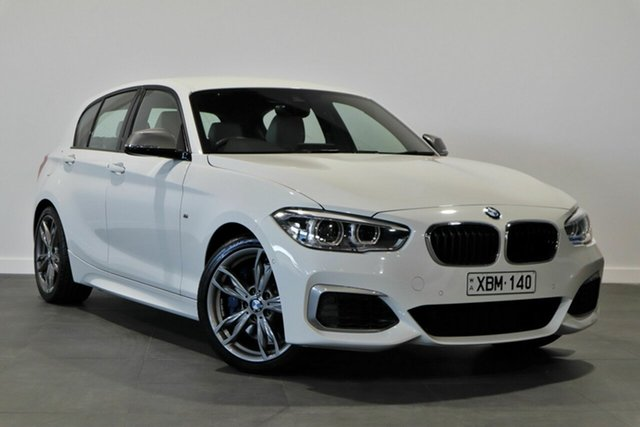 Used BMW 1 Series F20 LCI-2 M140i Bayswater, 2018 BMW 1 Series F20 LCI-2 M140i White 8 Speed Sports Automatic Hatchback