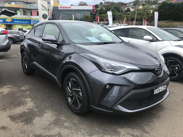 Demo Toyota C-HR NGX50R Koba S-CVT AWD Brookvale, 2020 Toyota C-HR NGX50R Koba S-CVT AWD Graphite 7 Speed Constant Variable Wagon
