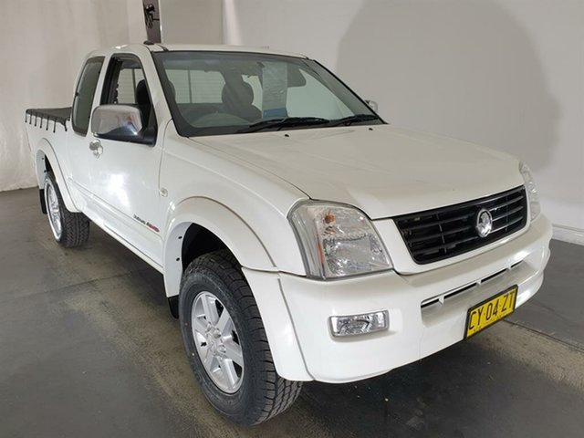 Used Holden Rodeo RA MY05.5 LT Crew Cab, 2005 Holden Rodeo RA MY05.5 LT Crew Cab White 5 Speed Manual Utility