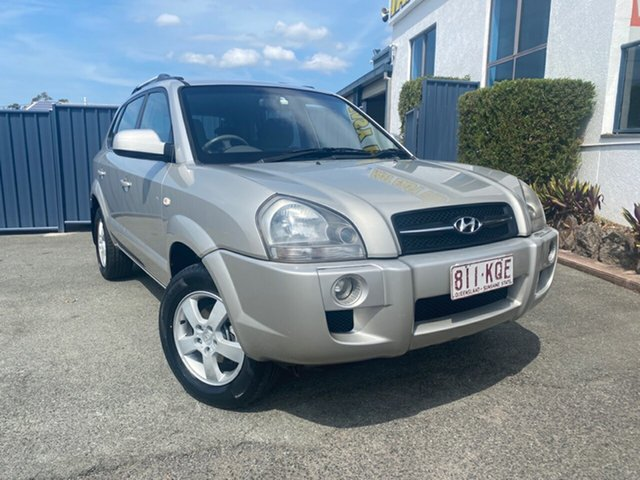 Used Hyundai Tucson JM City, 2007 Hyundai Tucson JM City Silver 4 Speed Sports Automatic Wagon