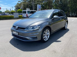 2017 Volkswagen Golf 7.5 MY17 110TSI DSG Comfortline Grey 7 Speed Sports Automatic Dual Clutch.