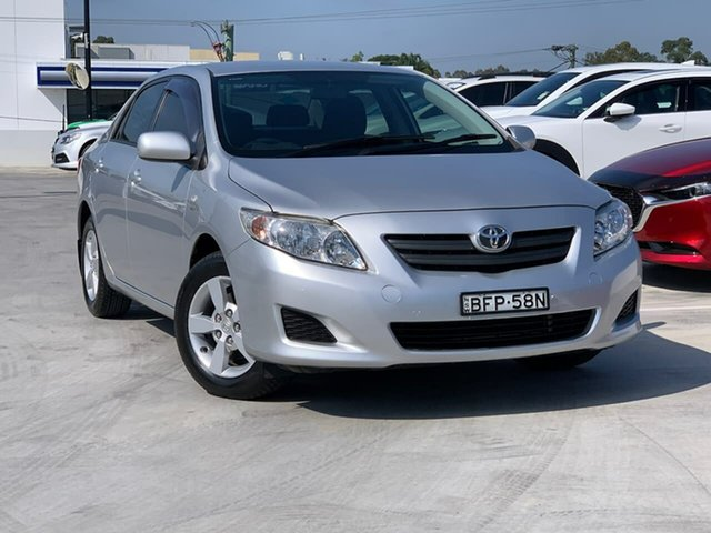 Used Toyota Corolla ZRE152R Ascent Liverpool, 2008 Toyota Corolla ZRE152R Ascent Silver 4 Speed Automatic Sedan