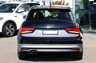 2018 Audi A1 8X MY18 Sportback S Tronic Black 7 Speed Sports Automatic Dual Clutch Hatchback