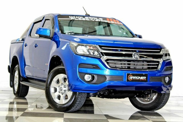 Used Holden Colorado RG MY19 LT (4x2), 2018 Holden Colorado RG MY19 LT (4x2) Blue 6 Speed Automatic Crew Cab Pickup