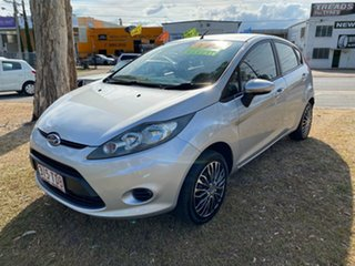 2012 Ford Fiesta WZ Ambiente Silver Manual Hatchback.
