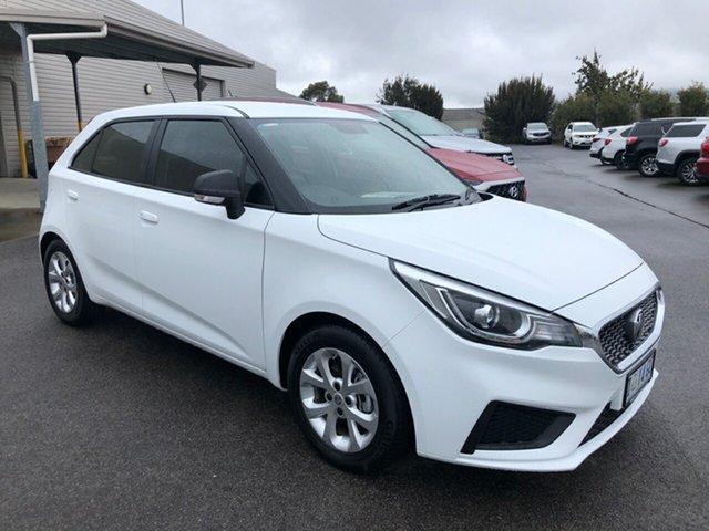 Used MG MG3 SZP1 MY18 Core, 2019 MG MG3 SZP1 MY18 Core White 4 Speed Automatic Hatchback