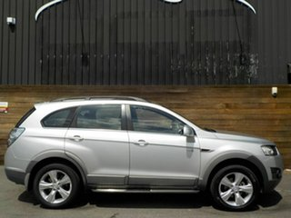 2013 Holden Captiva CG Series II MY12 7 AWD CX Silver 6 Speed Sports Automatic Wagon.