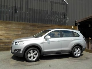 2013 Holden Captiva CG Series II MY12 7 AWD CX Silver 6 Speed Sports Automatic Wagon