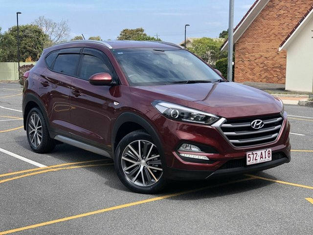 Used Hyundai Tucson TL MY17 Active X 2WD, 2016 Hyundai Tucson TL MY17 Active X 2WD Red 6 Speed Sports Automatic Wagon