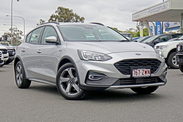 Used Ford Focus SA 2019.75MY Active Ebbw Vale, 2019 Ford Focus SA 2019.75MY Active Moondust Silver 8 Speed Automatic Hatchback