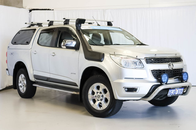 Used Holden Colorado RG MY14 LTZ Crew Cab, 2014 Holden Colorado RG MY14 LTZ Crew Cab Silver 6 Speed Sports Automatic Utility