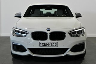 2018 BMW 1 Series F20 LCI-2 M140i White 8 Speed Sports Automatic Hatchback.