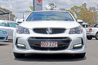 2017 Holden Commodore VF II MY17 SV6 White 6 Speed Sports Automatic Sedan