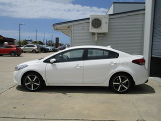 2017 Kia Cerato YD MY17 Sport White 6 Speed Sports Automatic Sedan