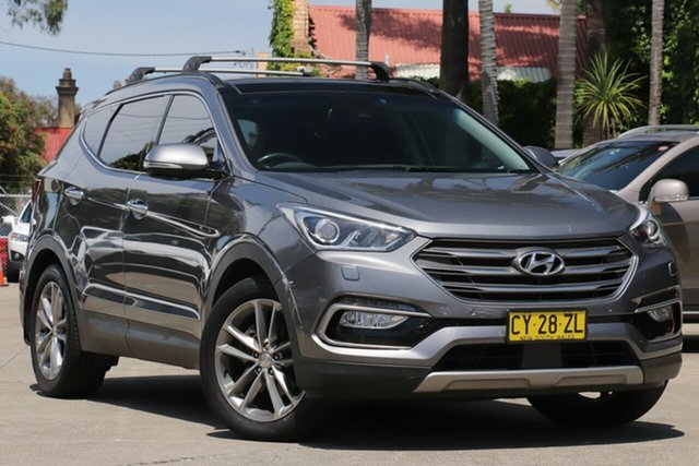 Pre-Owned Hyundai Santa Fe DM Series II (DM3) Highlander CRDi (4x4) Mosman, 2016 Hyundai Santa Fe DM Series II (DM3) Highlander CRDi (4x4) 6 Speed Automatic Wagon