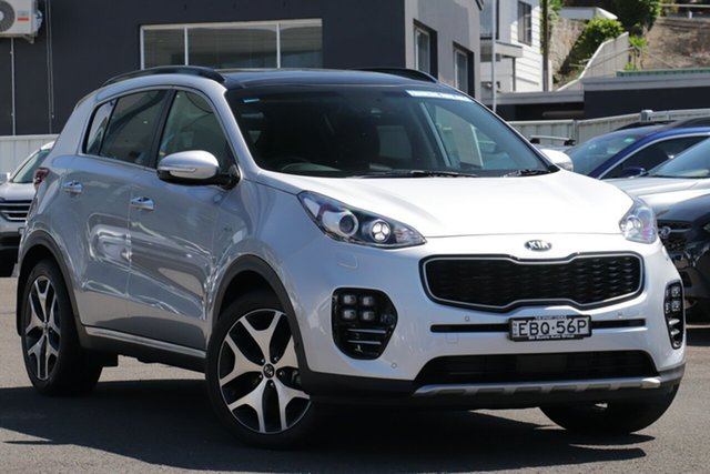Used Kia Sportage QL MY17 GT-Line AWD, 2017 Kia Sportage QL MY17 GT-Line AWD Silver 6 Speed Sports Automatic Wagon