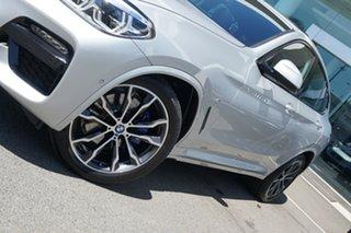 2020 BMW X4 G02 xDrive30i M Sport Glacier Silver 8 Speed Auto Steptronic Sport Wagon.