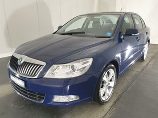 2011 Skoda Octavia 1Z MY11 118TSI DSG Blue 7 Speed Sports Automatic Dual Clutch Liftback