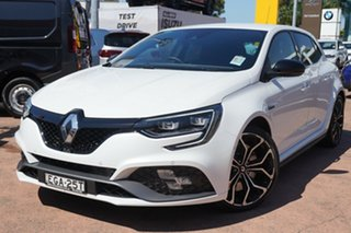 2018 Renault Megane XFB-BFB RS 280 White 6 Speed Auto Dual Clutch Hatchback.
