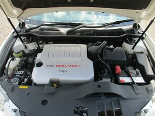 2009 Toyota Aurion GSV40R AT-X White 6 Speed Sports Automatic Sedan
