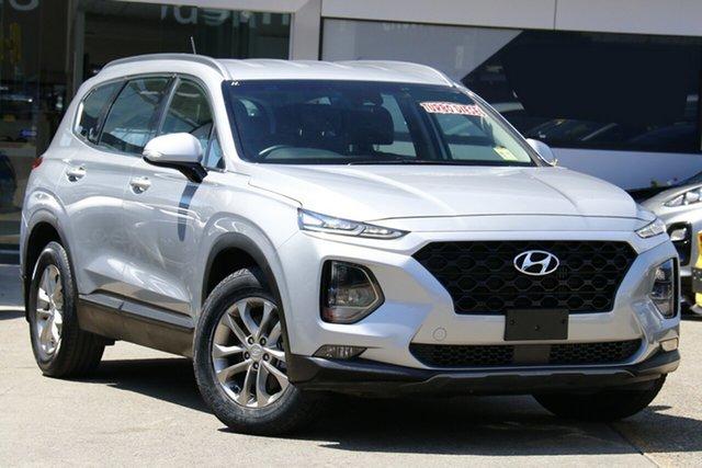 Used Hyundai Santa Fe DM5 MY18 Active Homebush, 2018 Hyundai Santa Fe DM5 MY18 Active Silver 6 Speed Sports Automatic Wagon