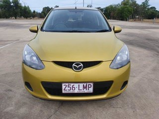 2007 Mazda 2 DY10Y2 Maxx Yellow 5 Speed Manual Hatchback