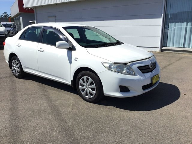 Used Toyota Corolla ZRE152R Ascent Cardiff, 2008 Toyota Corolla ZRE152R Ascent White 6 Speed Manual Sedan