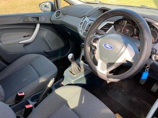 2012 Ford Fiesta WZ Ambiente Silver Manual Hatchback