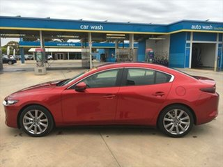 2020 Mazda 3 BP2S7A G20 SKYACTIV-Drive Evolve Soul Red Crystal 6 Speed Sports Automatic Sedan