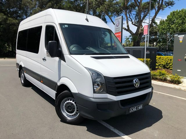 Used Volkswagen Crafter 2ED1 MY16 35 MWB TDI400, 2016 Volkswagen Crafter 2ED1 MY16 35 MWB TDI400 White 6 Speed Manual Van
