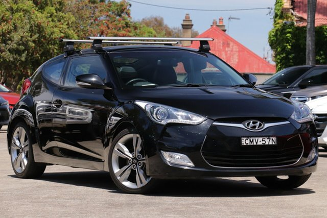 Pre-Owned Hyundai Veloster FS MY13 + Mosman, 2012 Hyundai Veloster FS MY13 + 6 Speed Manual Coupe