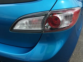 2011 Mazda 3 BL10F1 MY10 Maxx Sport Blue 6 Speed Manual Hatchback