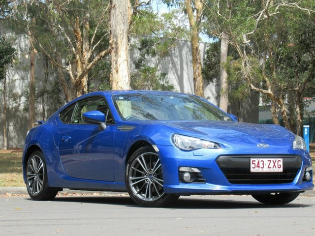 Used Subaru BRZ Z1 MY15 , 2015 Subaru BRZ Z1 MY15 Blue 6 Speed Manual Coupe