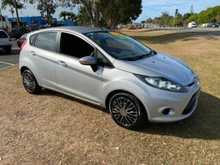 2012 Ford Fiesta WZ Ambiente Silver Manual Hatchback