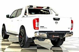 2016 Nissan Navara D23 Series II ST (4x4) White 7 Speed Automatic Dual Cab Utility