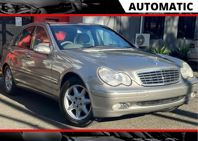 Used Mercedes-Benz C-Class W203 C240 Elegance Ashmore, 2003 Mercedes-Benz C-Class W203 C240 Elegance 5 Speed Sports Automatic Sedan