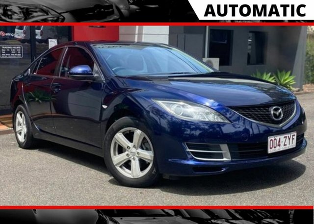 Used Mazda 6 GH1051 Luxury Ashmore, 2008 Mazda 6 GH1051 Luxury Metallic Blue 5 Speed Sports Automatic Sedan