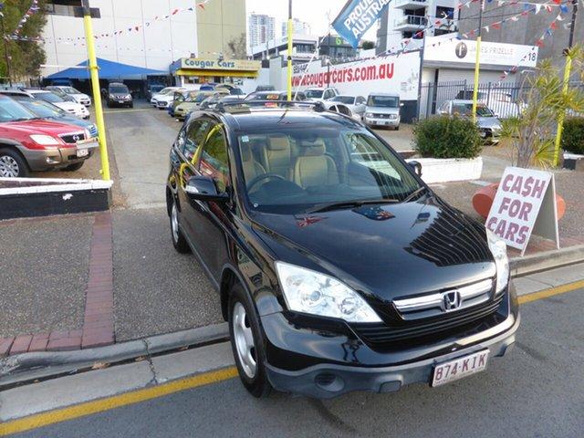 Used Honda CR-V MY07 (4x4) Southport, 2007 Honda CR-V MY07 (4x4) Black 5 Speed Automatic Wagon