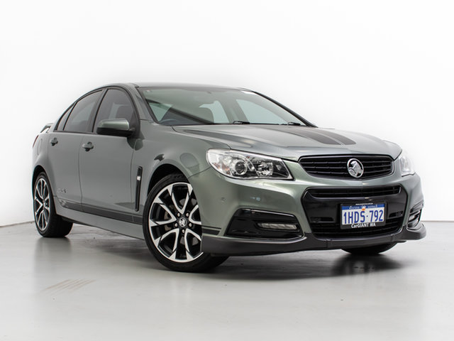 Used Holden Commodore VF SS, 2013 Holden Commodore VF SS Prussian Steel 6 Speed Automatic Sedan