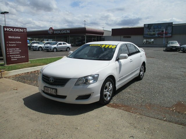 Used Toyota Aurion GSV40R AT-X, 2009 Toyota Aurion GSV40R AT-X White 6 Speed Sports Automatic Sedan