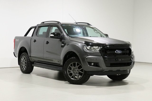 Used Ford Ranger PX MkII MY17 FX4 Special Edition, 2017 Ford Ranger PX MkII MY17 FX4 Special Edition Grey 6 Speed Automatic Double Cab Pick Up