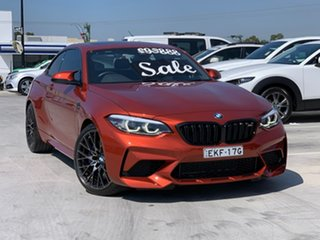 2018 BMW M2 F87 LCI Competition M-DCT Orange 7 Speed Sports Automatic Dual Clutch Coupe.
