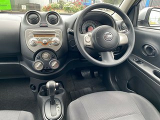 2013 Nissan Micra K13 MY13 ST Silver 4 Speed Automatic Hatchback
