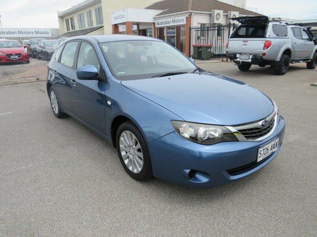 Used Subaru Impreza G3 MY09 R AWD, 2009 Subaru Impreza G3 MY09 R AWD Blue 4 Speed Sports Automatic Hatchback