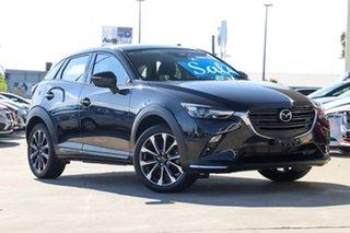 2019 Mazda CX-3 DK2W7A sTouring SKYACTIV-Drive FWD Jet Black 6 Speed Sports Automatic Wagon.
