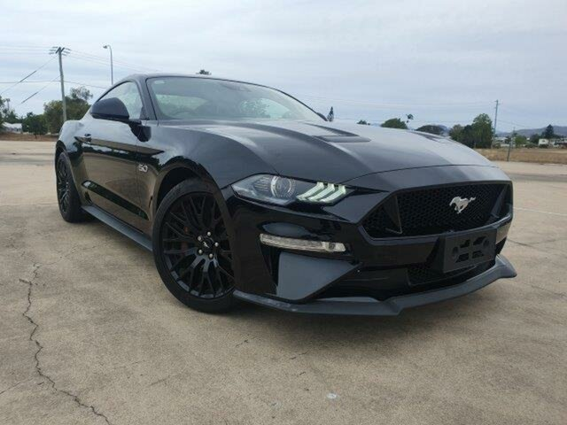 Used Ford Mustang FN 2019MY GT, 2018 Ford Mustang FN 2019MY GT Black 10 Speed Sports Automatic Fastback