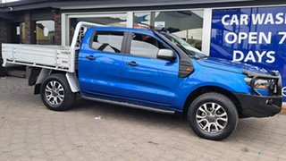 2018 Ford Ranger PX MkII 2018.00 XLS Double Cab Blue 6 Speed Sports Automatic Utility.